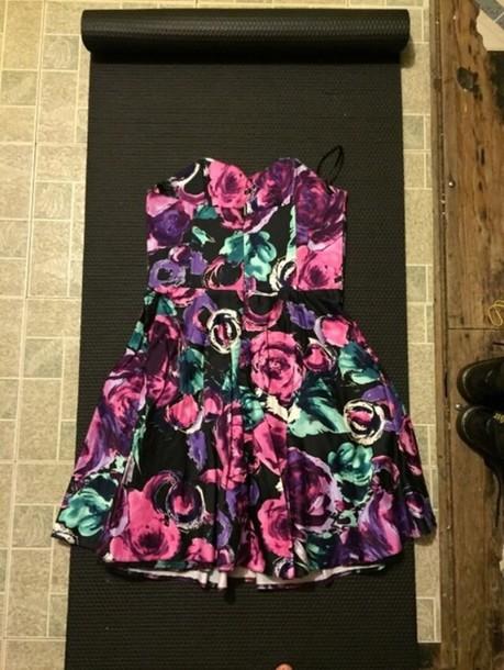 dress windsor store.com windsor floral dress vintage vintage inspired cute dress