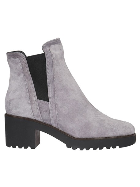 Hogan ankle boots grey shoes