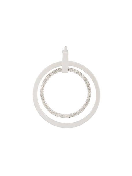 Asherali Knopfer women gold white grey metallic jewels