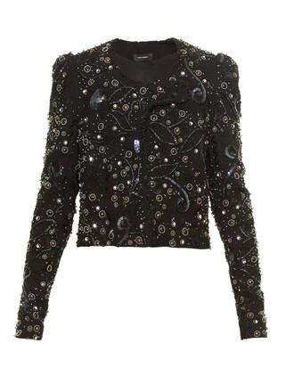 jacket embellished black