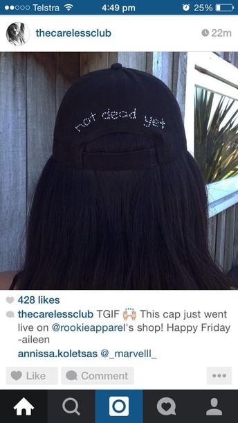hat hat black tumblr backha clothing