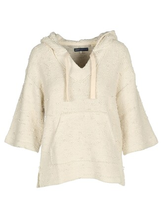 hoodie sweatshirt cream sweater