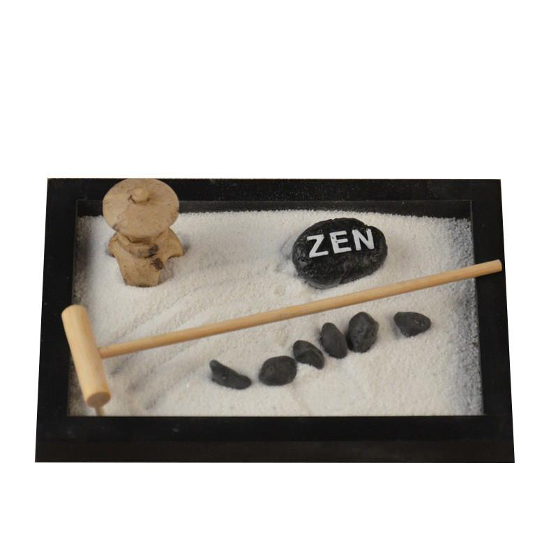 Zen Garden Kit Awesome Rounded Mini Zen Garden With Rakes Sand And