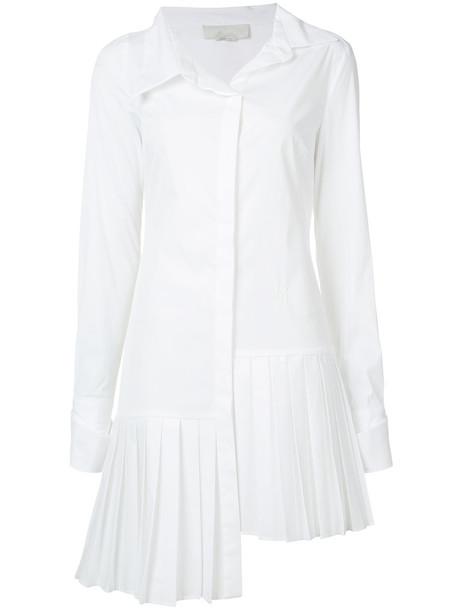 Monse dress shirt dress long women white cotton