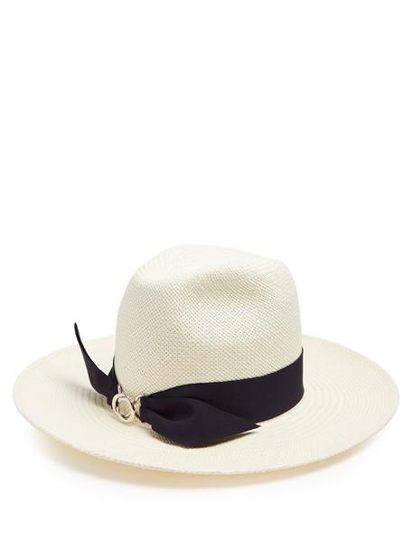 hat straw hat white