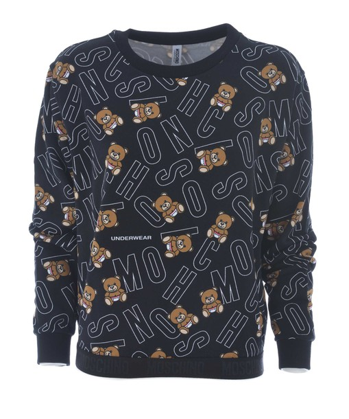 Moschino sweatshirt bear print sweater