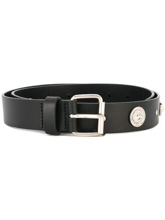 studded belt studded lion belt black