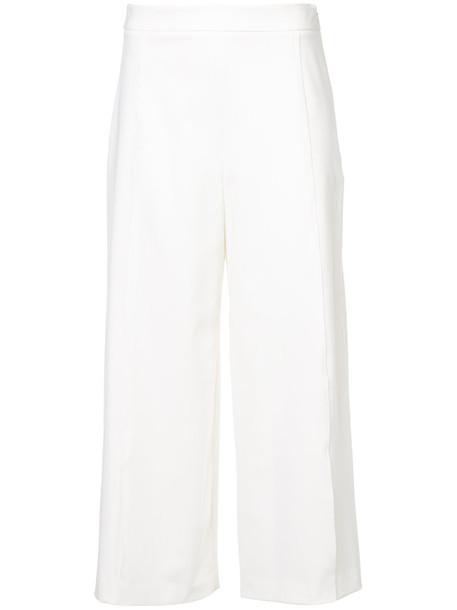 Rachel Zoe pants cropped pants cropped women spandex white