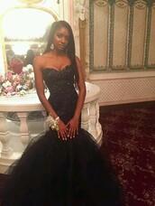 dress,black sparkle mermaid,black dress,black,prom dress,mermaid prom dress,long prom dress,sweetheart prom dresses,black prom dress,sexy prom dress
