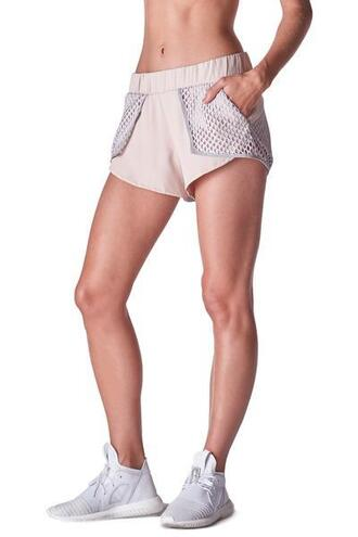 shorts flash short light pink grey active bottom michi bikiniluxe