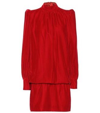 dress velvet dress velvet red