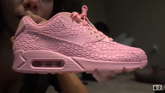 shoes pink alyssa forever nike air max