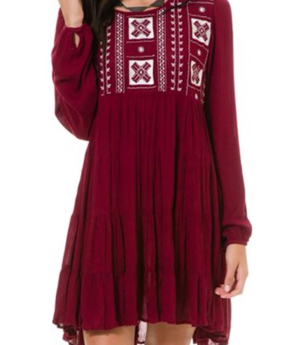 dress boho dress bohemian dress bohemian