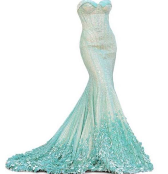 2709fe186671b dress the little mermaid mermaid prom dress mermaid dresses mermaid fancy  blue green