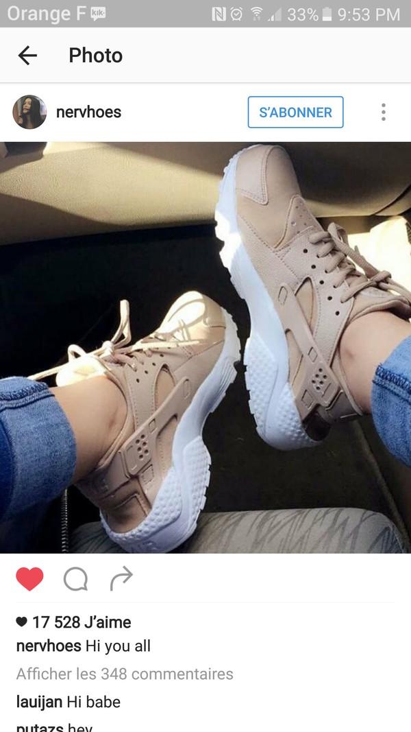 Khaki NUDE Nike Air Huarache, Army Huarache, Khaki Huarache, Nike ...
