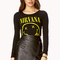 Nirvana crop top | forever21 - 2000090472