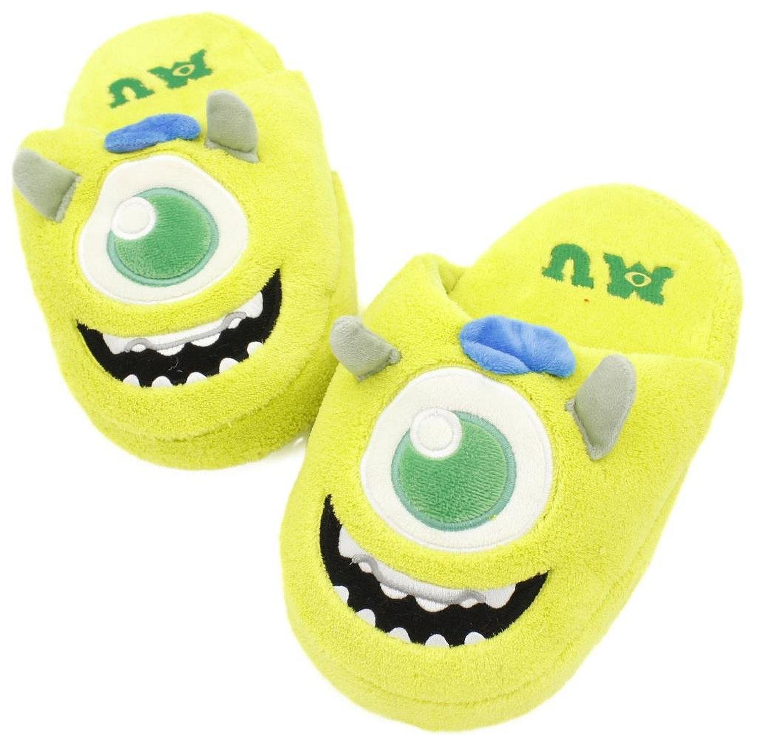 Amazon.com: monsters inc: women's mike plush slippers size 7