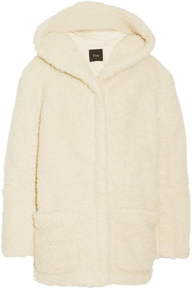 Girofard hooded faux shearling coat | NET-A-PORTER.COM