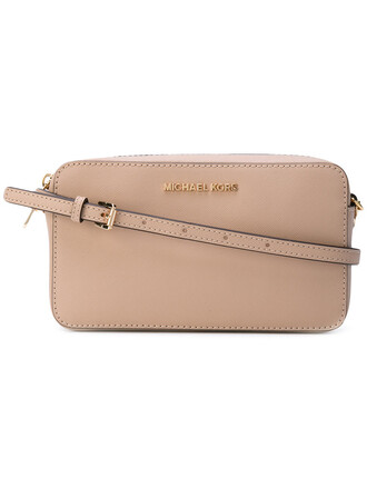 women embellished bag shoulder bag leather nude