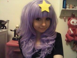 hat pastel pastelgrunge pastelgoth purple lilac lavender wig cute kawaii harajuku