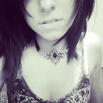 jewels necklace christina grimmie singer accessories elven love silver fancy beautiful