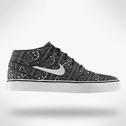 Nike SB Zoom Stefan Janoski Mid iD Skateboarding Shoe. Nike Store