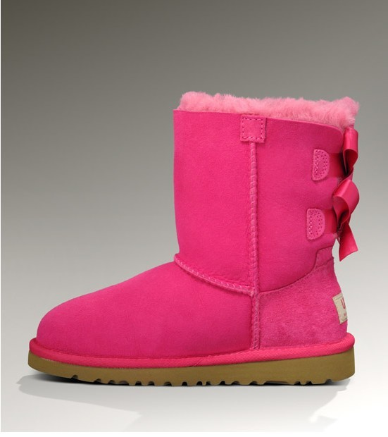2013 Womens UGG Bailey Bow Boots DARK DUSTY ROSE : UGG Boots Clearance Sale, Cheap Ugg Boots Clearance - Affiliated Ugg Boots UK Shop