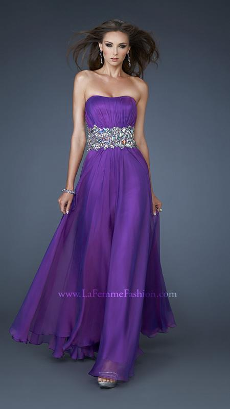 Electric Purple Prom Dresses - Boutique Prom Dresses