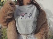 shirt,fila,fila shirt,fila sweater
