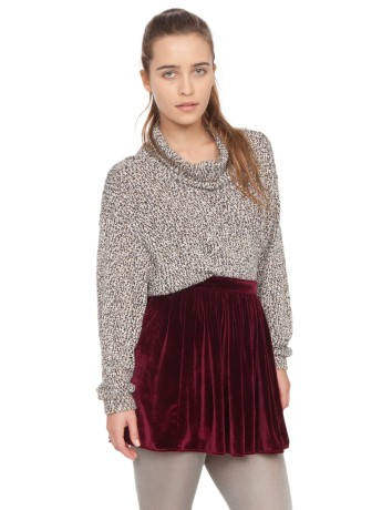 Velvet Full Woven Skirt | Shop American Apparel