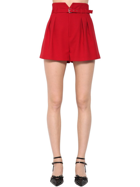 shorts high red