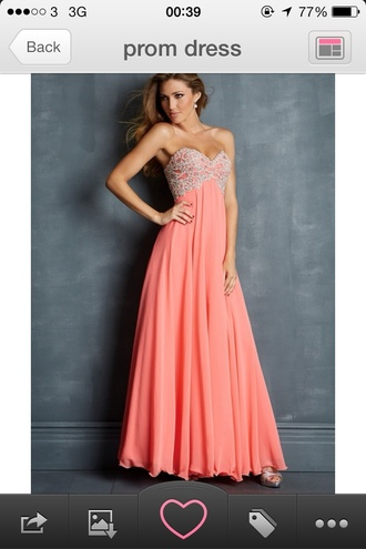 dress prom ball gown prom dress pink sequins
