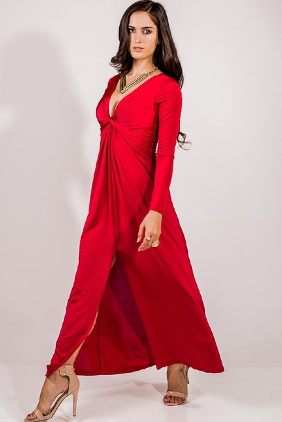 Ruby Red Bridesmaid Dresses Dress Red Ruby Formal Gown