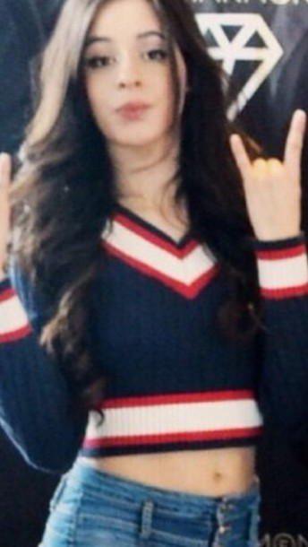 sweater camila cabello v neck