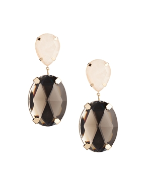 ASOS | ASOS Gem Drop Earrings at ASOS