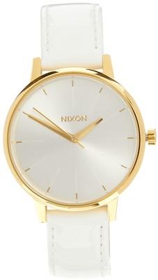 Nixon Kensington White Patent Leather Watch - Polyvore