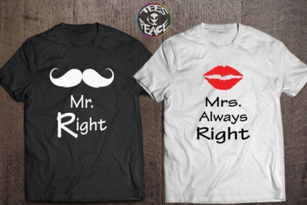t shirt mr and mrs personalized husband husband gift