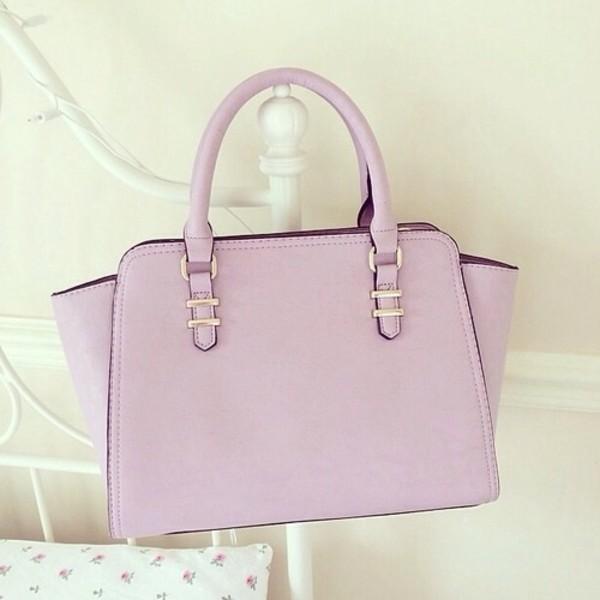 bag leather bag lilac bag pastel bag gorgeous pink pastel light