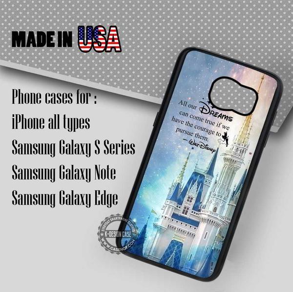 Samsung S7 Case - Walt Disney Quotes Cinderella - iPhone Case #SamsungS7Case #Disney #yn