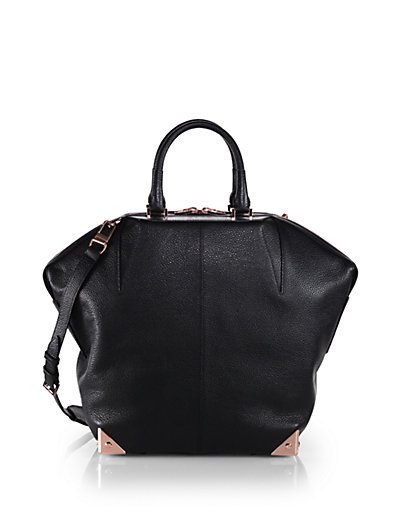 Alexander Wang - Emile Large Pebbled Leather Tote - Saks.com