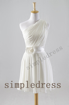 Buy 2014 hot selling real sample a line for Short cheap wedding dresses under 100
