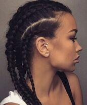 jewels,elena kitic,ear,lobe,piercing,tragus,hoop,crystal,turntslut,braid,instagram,forward helix,circular barbell,jewelry,Inner helix,horseshoe earring