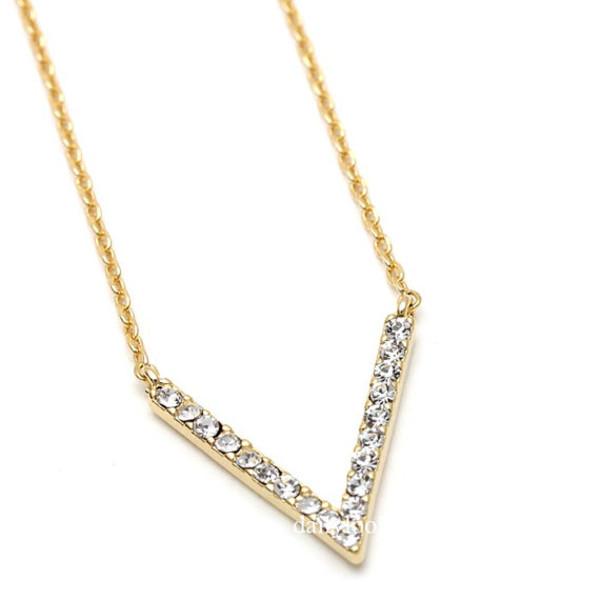 jewels necklace chevron chevron necklace v chevron triangle necklace woman necklace