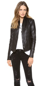 LEATHER JACKET | SHOPBOP