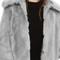 Topshop claire luxe faux fur coat | nordstrom