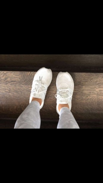 shoes, white, sneakers, sports shoes