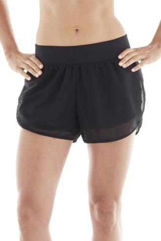shorts michi active wear black bikiniluxe