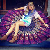 home accessory,beach,hippie dress,tapestry,dorm tapestry,wall tapestry,hippie wall hanging,round wall hangings,mandala roundies,mandala,round mandala,yoga,fashion,beach house,home decor,mandala fabric,roundie mandala,beautiful,colorful,red,pink,fashion toast