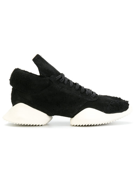 Rick Owens women sneakers leather black shoes