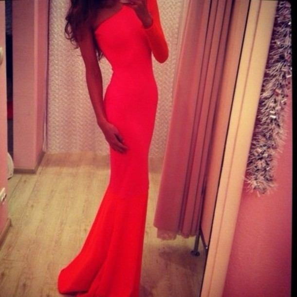 Tight Red Prom Dresses 45